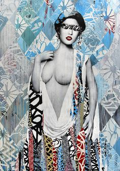 Hush Shows Us What East Meets West Looks Like, Street Art Style   artFido's Blog