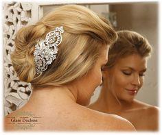 Wedding hair accessory, Bridal hair comb, crystal comb, bridal hair accessory, Bridal crystal Rhinestone Hair Comb