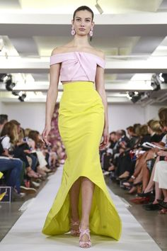oscar-de-la-renta-ready-to-wear-spring-summer-2015-new-york...Beautiful details to recreate.Try different fabric combination to achieve the best look. Ask your dressmaker for suggestions that fit your wedding theme.