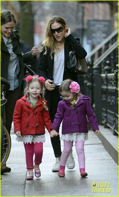 Sarah Jessica Parker and the twins