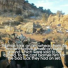 Way to go Thomas what is actually amazing is that they filmed the scorch trials where I live so I know where he got it from I seriously wish I could have met them but I didn't :(