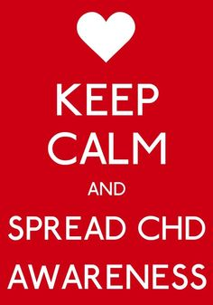 CHD AWARENESS MONTH IS FEBRUARY! In honor of my classmate & friend, Bethany. ❤