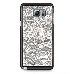Tyler Oakley Arts TATUM-11510 Samsung Phonecase Cover Samsung Galaxy Note 2 Note 3 Note 4 Note 5 Note Edge This case mate is not only phone accessories which cover your device, but also gives a cool a