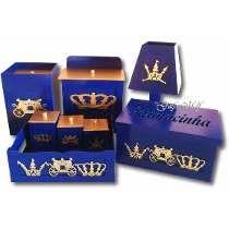Kit Bebe Azul E Dourado Principe Com Farmacinha