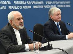 El Ministro de Relaciones Exteriores de Irán, Mohammad Javad Zarif dijo en Ereván que Teherán oficialmente apoya el proceso de paz de los conflictos en el Cáucaso del Sur y su liquidación de conformidad con las normas y principios del derecho internacional.