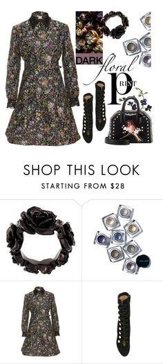 """""""Dark Florals"""" by sweet-designs ❤ liked on Polyvore featuring Givenchy, Bobbi Brown Cosmetics, Alexis Mabille, Jimmy Choo and STELLA McCARTNEY"""