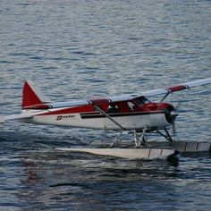 Float plane, so want to go on one of these.