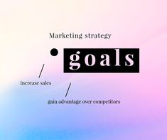 Marketing strategy goals on a pastel business template vector | premium image by rawpixel.com / Mind Social Media Template, Social Media Design, Advertisement Template, Get More Followers, Direct Marketing, Sale Promotion, Public Relations, Advertising, Pastel