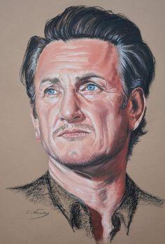 Sean Penn portrait by Andromaque78 on DeviantArt