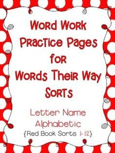 words their way word sorts for emergent spellers pdf