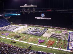 2012 Drum Corps International Finals at Lucas Oil Stadium, Indianapolis! My sons corps, The Blue Nights, finished 10th in the World Finals! Can hardly wait for 2013!