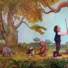 Winnie the Pooh + Star Wars