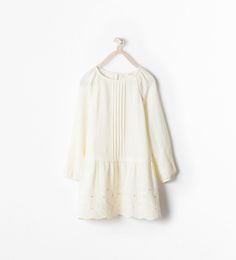 Image 1 of BEADED EMBROIDERED DRESS from Zara