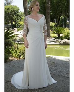 Plus Size Ruched Wedding Dress . 25 Plus Size Ruched Wedding Dress . Crinkle Chiffon Draped Plus Size Wedding Dress Strapless Ruched Bodice Simple Elegant Bridal Gowns Beading Sash Gowns Wedding Dresses Modest Ruched Wedding Dress, Plus Size Wedding Gowns, Plus Size Gowns, Modest Wedding Dresses, Bridal Dresses, Dressy Dresses, Plus Size Brides, Curvy Bride, Half Sleeve Dresses