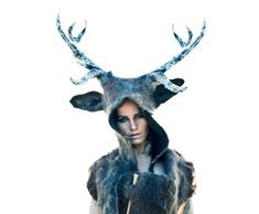 Barbara Keal felt deer