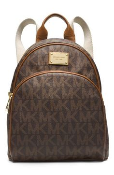 MICHAEL Michael Kors 'Small Jet Set' Backpack available at #Nordstrom  I like the vanilla color better size 10' W x 12' H