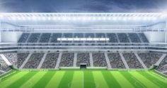Brasil 2014 empezará el 12 de junio. Estadio Arena Do Corinthias, uno dw los que tienen mejor iluminacion