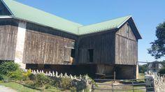 A working barn