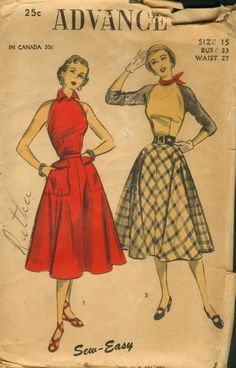 Vintage sewing pattern!