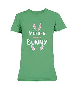 Mother Bunny Easter Cute Matching Family Group Easter Day Gift - Gildan Ultra Ladies T-Shirt Irish Green OriTee Matching Costumes, Happy Easter Day, Shirt Price, S Star, Gifts For Family, Easter Bunny, Family Photos, Fashion Brands, Irish