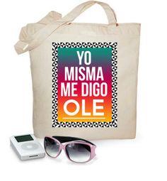 Bolsa Tote bag Ole Rectángulo