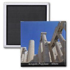 Acropolis Propylaea - Athens Refrigerator Magnet