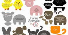I searched everywhere for an animal template that I could use to make felt animals for Baby's felt story board AND nothing came close to wh...