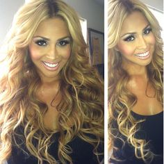 Somaya Reece - love the color and curls