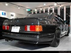 Probably the greatest of the driver's Mercedes. The legendary M 117 motor was stroked out to 6 litres with DOHC and pushing out an easy 390 BHP claimed, though many thought that 420 or 425 was more like the real power of this engine. Each of the wide body's was road tested by AMG at 295 Km/hr. 0-60mph dash was 5.2 sec. These cars made mockery out of the Bentley Turbo R's and were the undisputed kings of the European autobahns. One of life's great joy's. [i...