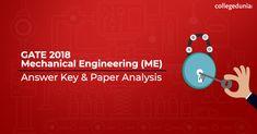 Gate ME 2018 Answer Key Exam Calendar, Entrance Exam, Mechanical Engineering, Gate, Key, Portal, Unique Key, Gates, Keys