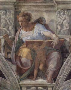 Michelangelo Buonarroti Poster - Ceiling Fresco For The Creation Story - The Prophet D
