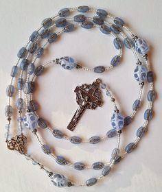 Fearfully and Wonderfully Made Rosary  Czech por RosaryPetals