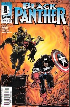 Enemy of the State Part 4 'The taking of Wakanda 1-2-3' _script by Christopher Priest, pencils And Cover art by M.D. Bright , The Story ... Can the Black Panther hold on to his throne?! With his kingd