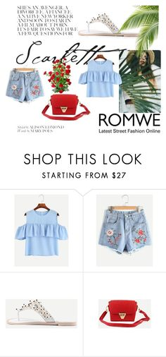 """""""#ROMWE"""" by kristina779 ❤ liked on Polyvore featuring romwe"""