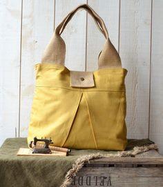 Chic Yellow DIAPER BAG! Love it!