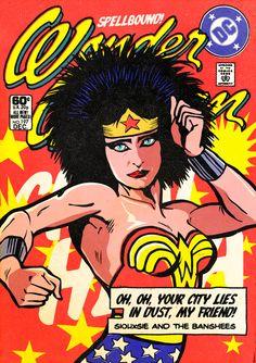 Super-heróis e pós punk