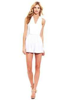 I'm in love with rompers lately -- BCBGeneration V-Neck Tank Jumper