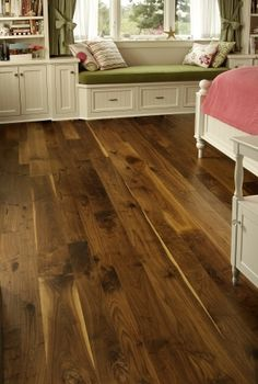 Dark Wood Flooring and Walnut Hardwood Flooring from Carlisle Wide Plank Floors