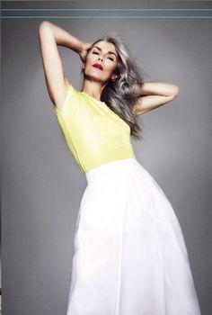 Elisabeth Legrand: Model Rock it Old Chic!