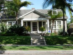 Lucille Ball's First Home - 1344 N. Ogdon Drive, West Hollywood. Would love s house like this. So cute