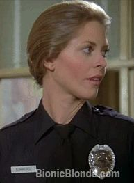 Jaime's Shield Pt. 2 Bionic Woman 1976 Another classic Lindsay Wagner facial expression.