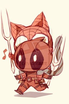Spideypool66 by LKiKAi.deviantart.com on @deviantART