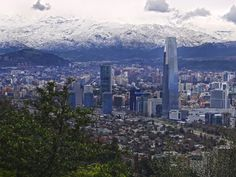Santiago - Chile - Andes Mountains