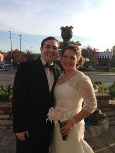Rick and Amanda were married on 10-11-15 at The Ambruster Great Hall.  Congrats  :)