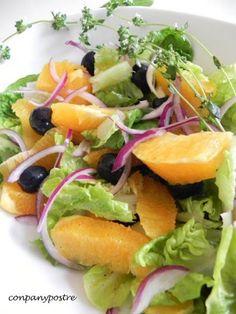 Cocina – Recetas y Consejos Salad In A Jar, Deli, Cantaloupe, Make It Simple, Vegetarian Recipes, Salads, Toast, Appetizers, Healthy Eating
