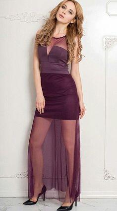 decfb6e510c4 Sheer Overlay Maxi Dress Chiffon Maxi Dress, Lace Dress, Plus Size Maxi  Dresses,