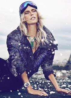 Cato Van Ee   Koray Birand #photography   Vogue Spain Joyas December 2012