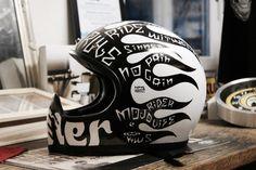 Casque custom DMD Seventy Five by Noise aka #15 Custom helmet www.kustomworkshop.com