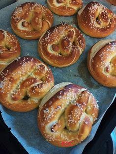 Praclíky s kváskom Bagel, Bread, Food, Basket, Brot, Essen, Baking, Meals, Breads