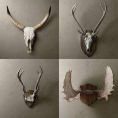 Les Deux: Skulls and Antlers in Cast Resin - Fashion Musings from Two Southern Girls